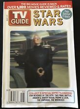 TV GUIDE: MAY 1-7 ~ STAR WARS: Your Special Tribute ~ THE EMPEROR COVER