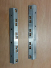 "19"" Aluminium pair of 4u rackstrip to Build into Rackmount Case r0900/4u"