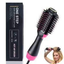 Hair Dryer Volumizer One Step Curling Oval Brush Curler Styler Mixed Bristles