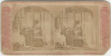 Fast Day - Humorous Ghost Costume Victorian Purviance Photo Stereoview