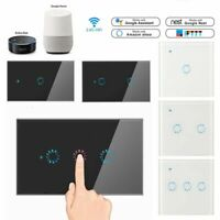 1/2/3 Gang WiFi Smart Light Switch Wall Remote Touch Control For Alexa Amazon