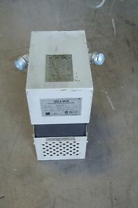 SOLA MCR Constant Voltage Regulator 63-23-125-4  USED