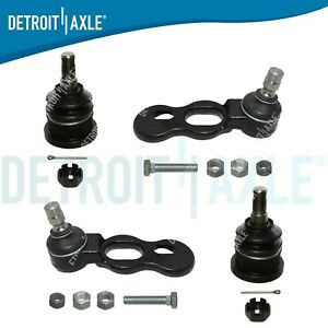 For Mercury Grand Marquis Front Steering 4pcs Upper and Lower Ball Joints Set