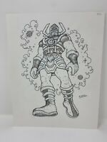GALACTUS ORIGINAL COMIC BOOK ART BY RAMON VILLALOBOS FANTASTIC FOUR COMIC MARVEL