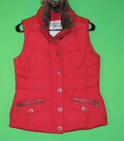 Eddie Bauer Womens Size XS Extra Small Goose Down 700 Fill Power Full Zip Vest