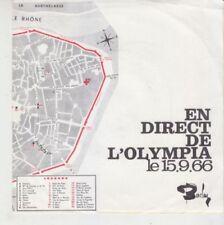 Disques vinyles Mireille Mathieu 17 cm sans compilation