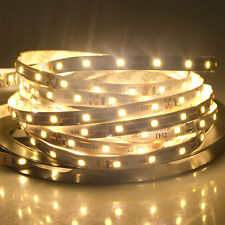 5M 2835SMD 300 LED Flexible Strip Light Ribbon Lamp Lighting Warm White DC12V