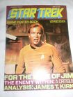 Star Trek Giant Poster Book Magazine #7 1977 poster of William Shatner as Kirk