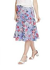 Marks & Spencer Per Una Oriental Burnout Skirt BNWT