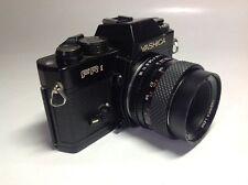 YASHICA FR 1 appareil photo reflex avec YASHICA DSB 55 mm f2 lens ** Lire description **