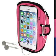 """Rosa Fascia da Braccio Armband per Apple iPhone 6 4.7"""" 2014 Sport Corsa Jogging"""