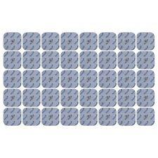 40 x Elektroden Pads 45x45mm f. SANITAS SEM 40 42 43 44 & BEURER EMS TENS Gerät