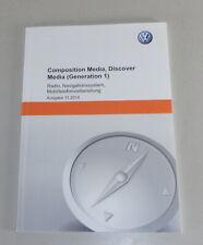 Mode D 'em Ploi VW Composition Media Radio, Navi Golf VII Passat B7/B8 2014