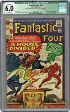 qualified Fantastic Four #34 CGC 6.0 1st App of Greg Gideon - George R R Martin