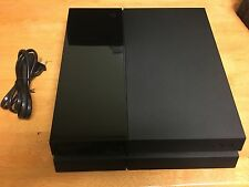 Sony PlayStation 4 Ps4 500Gb Ps 4 Jet Black Factory Recertified (Console Only)
