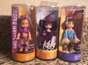 2003 Mattel Kelly Halloween Exclusive 3 doll lot .