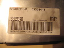 HOLDEN COMMODORE GENUINE VU 3.8 V6 MANUAL COMPUTER ONLY PCM - (09356445)