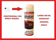Aerosol Spray Paint VW/AUDI L282 LOTUS WHITE Golf, Passat, Bora, Vento, Jetta, S