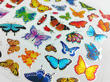 175pcs Colourful Butterfly Stickers Notes Diary School Note Book Scrapbook kids