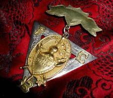 SALE! Post CIVIL WAR Antique KNIGHTS of PYTHIAS Ornate JEWEL! Historic AMERICANA