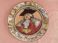 "Royal Doulton ""THE MAYOR"" Plate ""The Mayor Series Ware Professionals"" TC 1050"