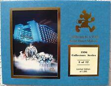 CAST MEMBER 1996 SERIES LE 1,000 CINDERELLA'S COACH-CONTEMPORARY RESORT PHOTO
