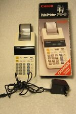 Vintage Canon P8-D Palm Printing Calculator In Box, with Charger. Please See!