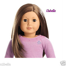 AMERICAN GIRL TRULY ME Doll layered brown hair,brown eyes 59 NEW ACTIVITY SET