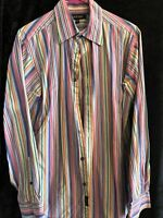 Murano Button Up Dress Shirt Size M