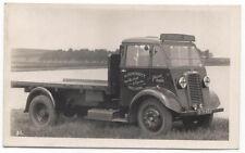 Commer Flatbed Truck original Postcard H Cockshott Nelson Ref 31