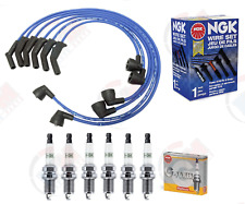 Tune Up Kit (NGK Wires & Spark Plug) for 1994-1997 Ford Mustang Thunderbird 3.8L