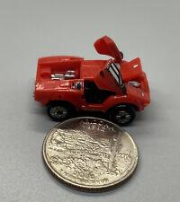 Micro Machines Lamborghini Countach Deluxe Red, 1988 Galoob RARE!! No Rear Door