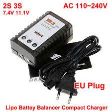 IMAX B3 lipo batterie balance chargeur 7.4V 11.1V 2S 3S 100-240V pour quad ue plug