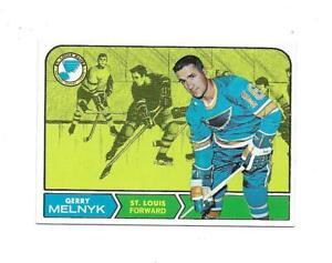 1968-69 Topps:#120 Gerry Melnyk,Blues