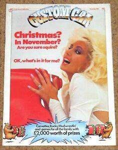 CUSTOM CAR Magazine Dec 1983 - CORVETTE C1/2/3 - KARMANN GHIA - HILUX - GOLF GTI