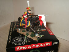 King & Country NA166 Napoleonic Wars Dutch Lancer With Lance Galloping 1 30 .