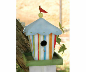 DECORATIVE  BIRD HOUSE - Circus Birdhouse -  SE927
