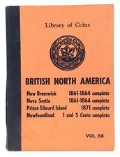 Vintage Library of Coins Volume 68 British North America Collector Album I067