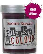 Jerome Russell Punky Color Semi Permanent Hair Dye 100mL Red Wine