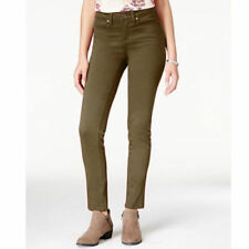 American Rag Women's Jeans Super-Skinny Leg Size 15 Colored Wash Olive New 276