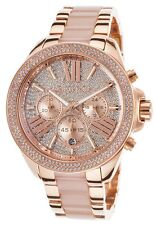 MICHAEL KORS WREN LADIES WATCH MK6096 - CRYSTAL DIAL ROSE GOLD TONE - BRAND NEW