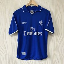 CHELSEA 2002 2003 HOME FOOTBALL SHIRT SOCCER JERSEY UMBRO