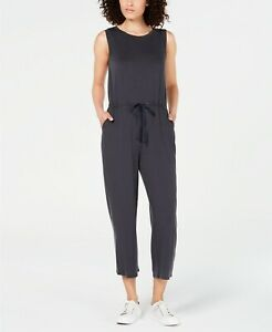 Eileen Fisher Petites Cropped Wide-Leg Jumpsuit MSRP $318 Size PM # 20A 296 NEW