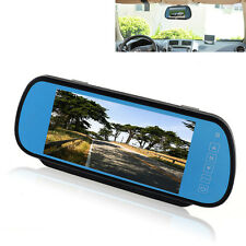 "7"" HD LCD Car Reverse Rear View Mirror Monitor Backup Camera Night Vision Mirror"