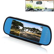 "7"" TFT Rückspiegel mit Monitor LCD Display Bildschirm für Rückfahrkamera 16:9"
