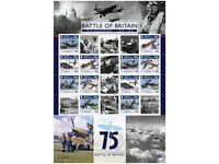 The Battle of Britain 75th Anniversary Commemorative Sheet (OC64)