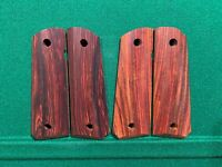 Unfinished Colt 1911 Cocobolo Rosewood Grips Full Size Government
