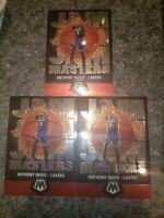 3 2019-20 Panini Mosaic Anthony Davis Jam Masters Los Angeles Lakers Lot