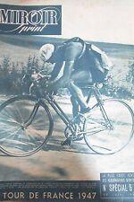 CYCLISME SPECIAL TOUR DE FRANCE de 1947 ETAPE LILLE BRUXELLES LUXEMBOURG VIETTO