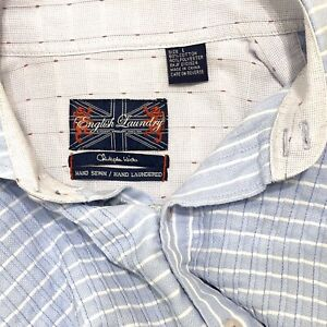 English Laundry 'Christopher Wicks' Large Men's Button Up Long Sleeve Shirt